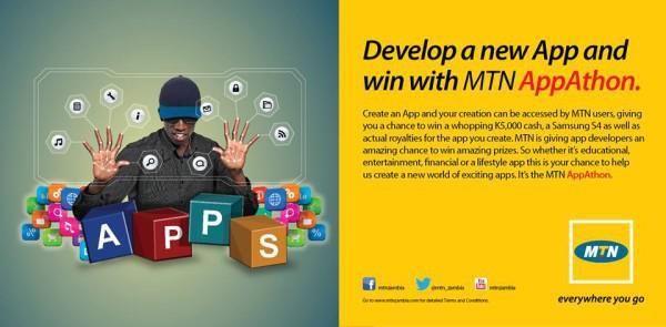 MTN Zambia appathon challenge. appsafrica.com