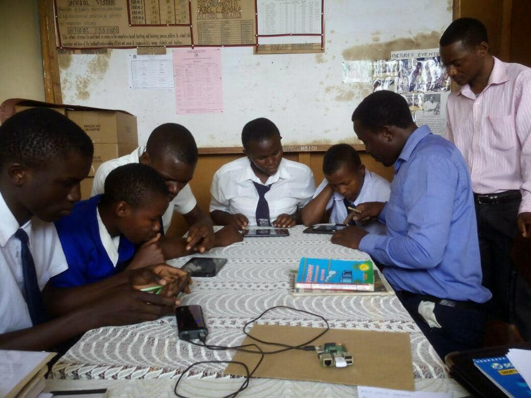 Raspberry Pi helps drive education in Tanzanian school. www.appsafrica.com