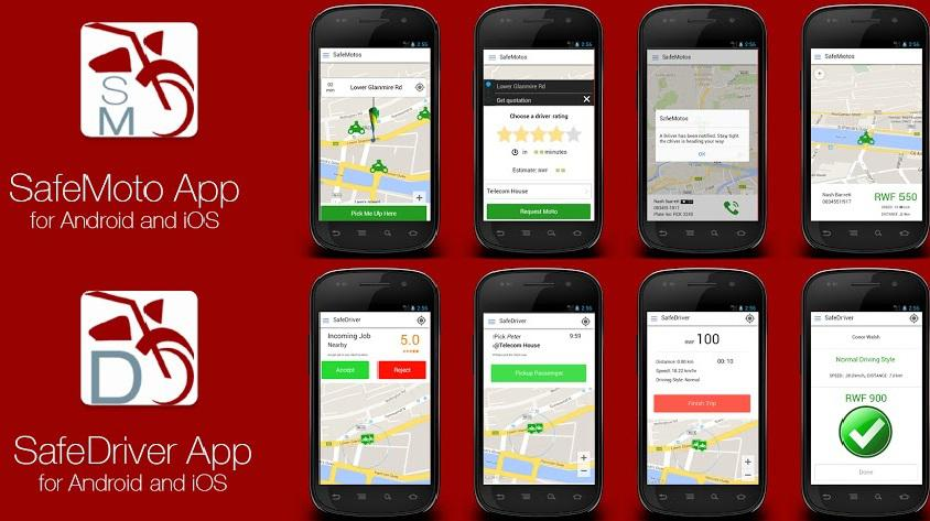 Safe Motos app Rwanda