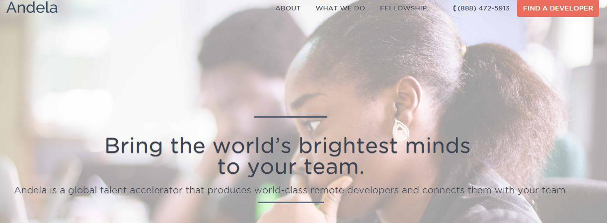 Nigeria-based developer training school and digital skills outsourcer Andela claims to be the most selective developer school in Africa, and intends to tackle unemployment on the continent by training a generation of highly-skilled young developers