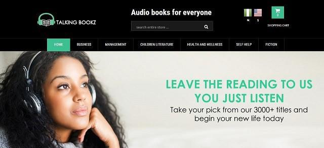TalkingBookz seeks to disrupt the traditional book publishing market and redefine how Africans consume books