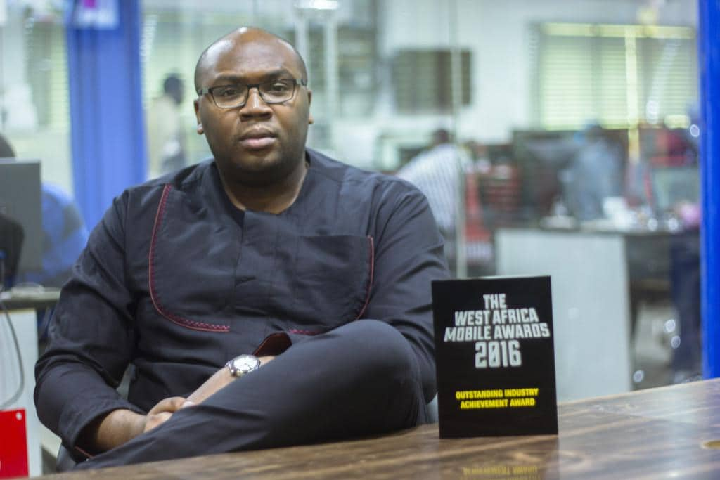 Jason Njoku's Outstanding Industry Achievement