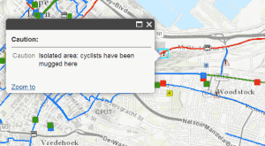 Bike Mugging Map