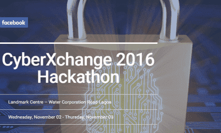 The first ever CyberXchange Hackathon sponsored by Facebook is to touch down in Nigeria