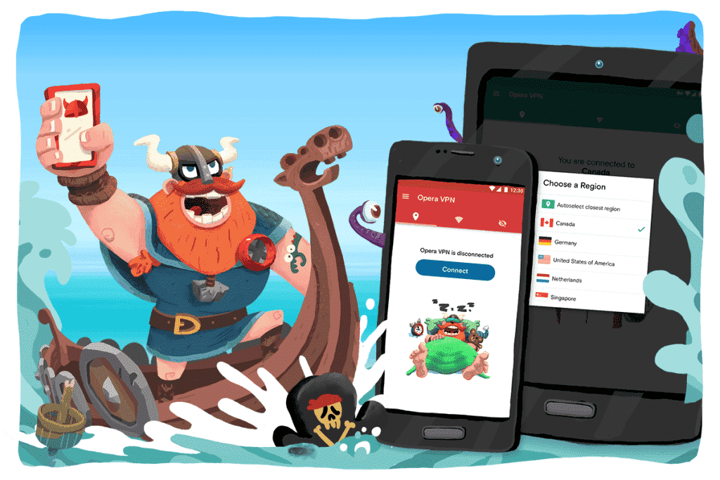 Opera VPN app rolls out to Android