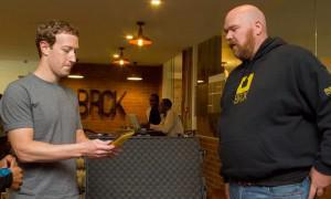 Zuckerberg meets one of Africa's leading innovators Eric Hersman at iHUB