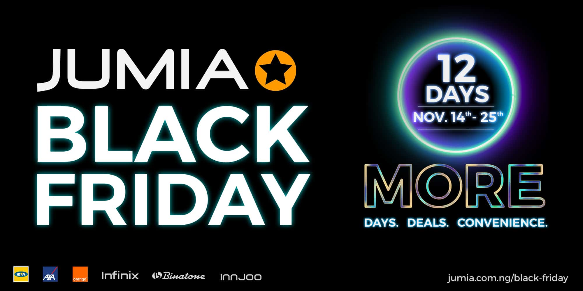 Jumia Launches A 12 Day Black Friday Campaign