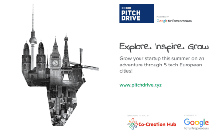 Last chance for African tech startups to apply for the €20M PitchDrive tour