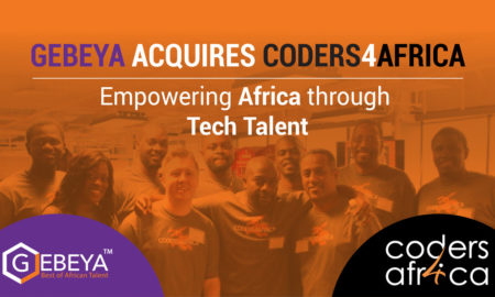 Gebeya has announced that it has acquired CODERS4AFRICA Inc. (C4A) to further accelerate its growth and fuel its developer talent pool into its marketplace.