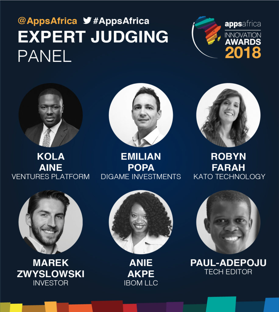 AppsAfrica Awards Expert Judges