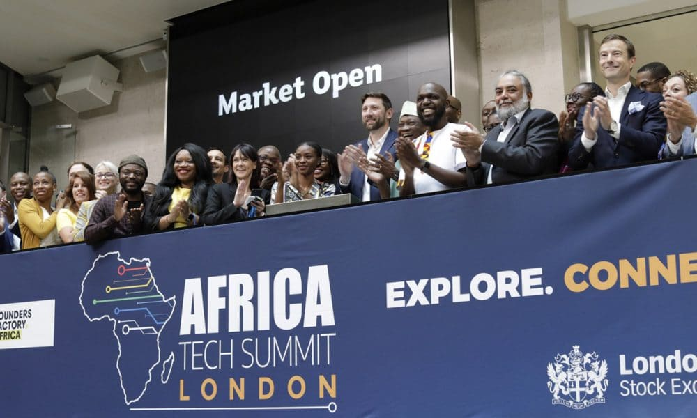 African tech takes centre stage in London and opens trading on London Stock Exchange
