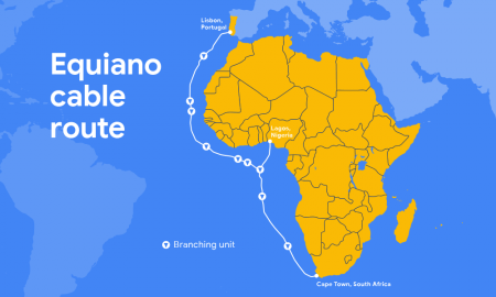 Google sub sea cable to Africa