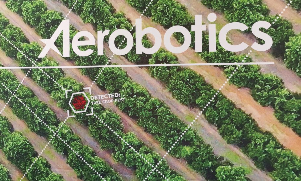 Naspers invests in Agritech startup Aerobotics